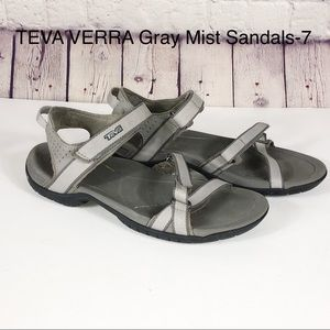 TEVA VERRA Strappy Water Sandals in Gray Mist-7